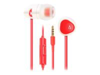 Creative MA200 Headset i øret støjisolerende rød