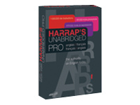 Harrap's Unabridged Pro francais/anglais-anglais/francais - ensemble de boîtes