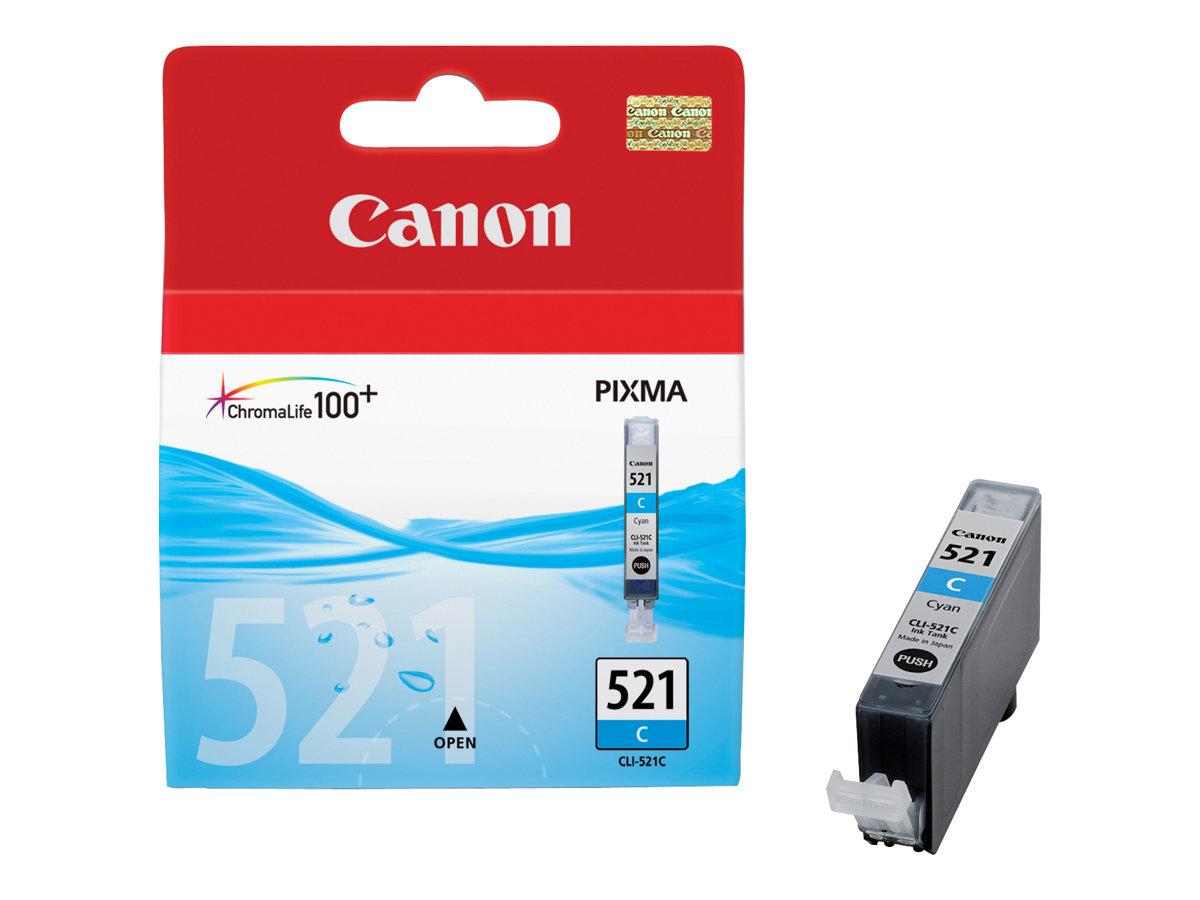 Canon CLI-521C - cyan - originale - réservoir d'encre