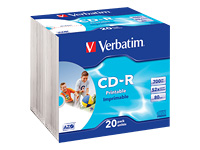 Verbatim DataLifePlus - CD-R x 20 - 700 Mo - support de stockage