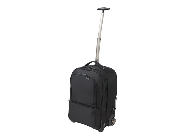 dicota backpack roller pro sac dos chariot pour ordinateur portable 17 3 maxiburo. Black Bedroom Furniture Sets. Home Design Ideas