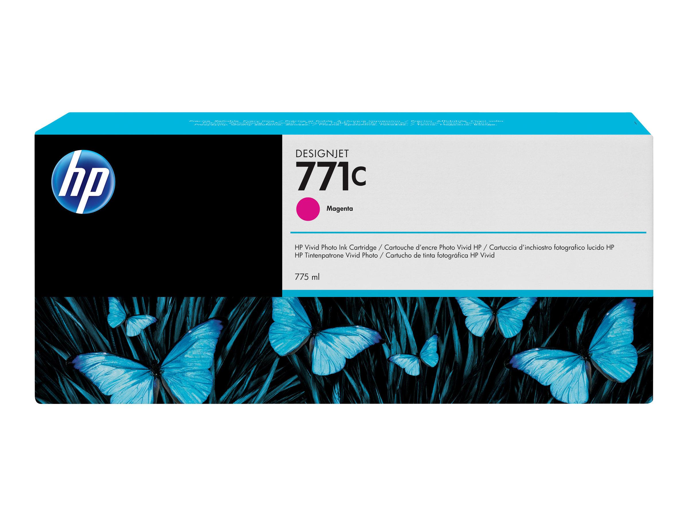 HP 771C - magenta - originale - cartouche d'encre