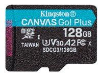 Kingston Canvas Go! Plus - Tarjeta de memoria flash - 128 GB