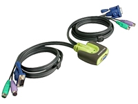 IOGEAR MiniView Micro KVM Switch GCS62