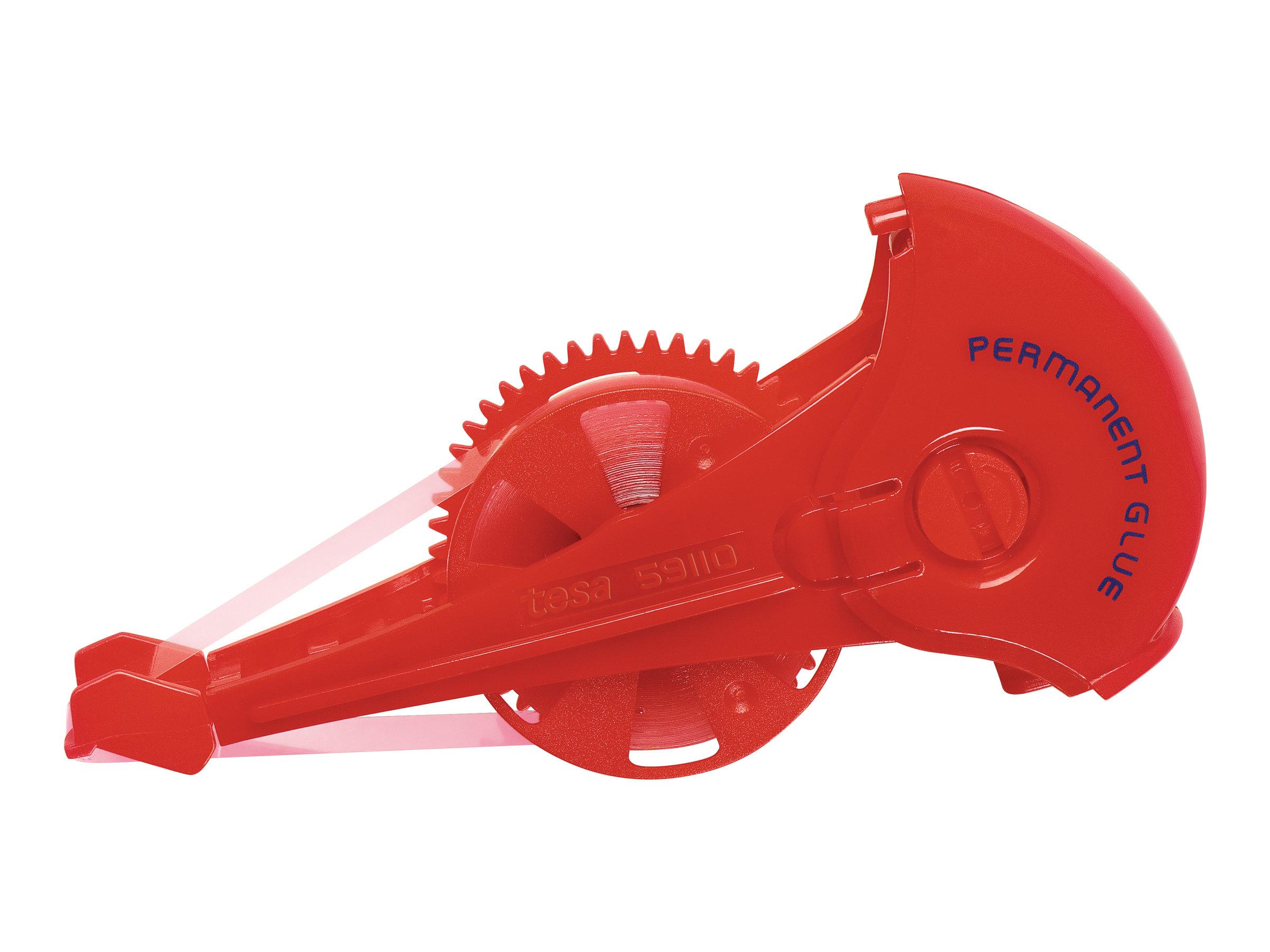 Tesa ecoLogo - Recharge pour rouleau de colle - 8.4 mm x 14 m - rougeâtre - permanent