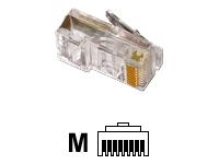 MCL Samar Connectique adaptateurs réseaux RJ-45B