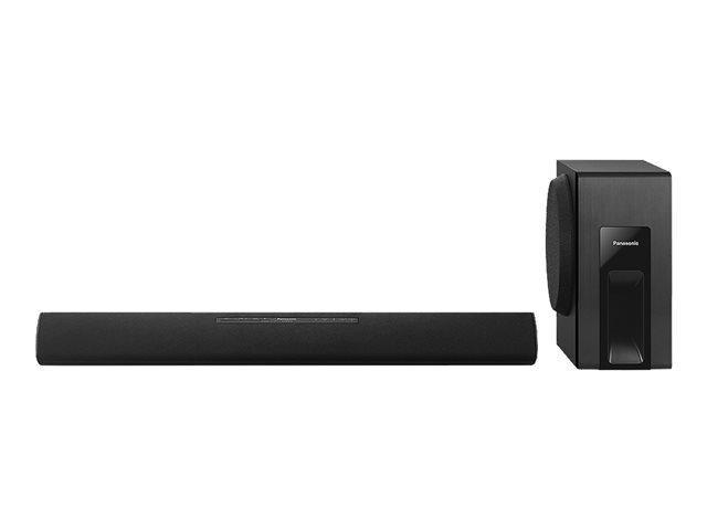 Image of Panasonic SC-HTB18EB - sound bar system - for home theatre - wireless