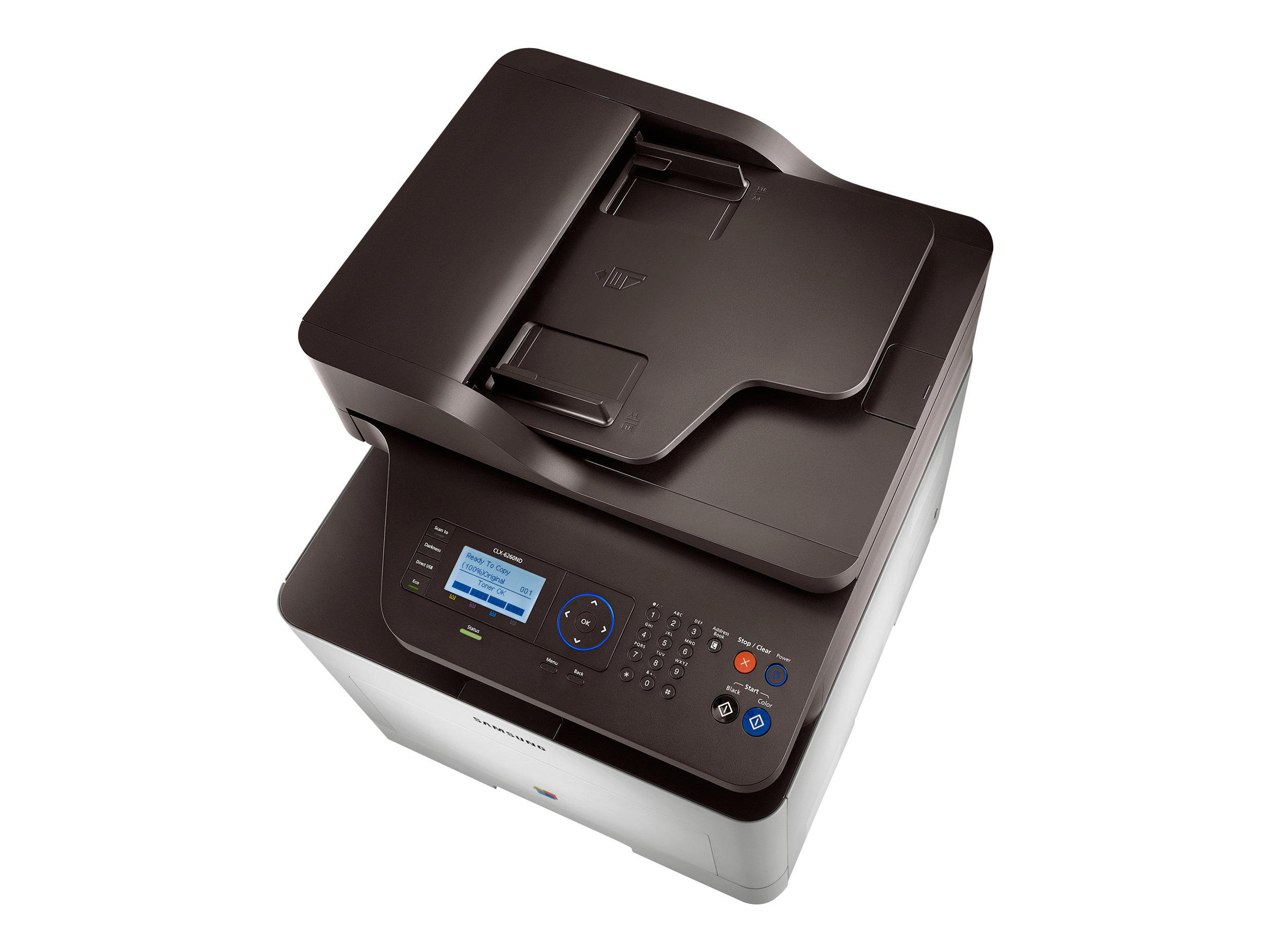 Samsung CLX-6260ND - imprimante multifonctions (couleur)