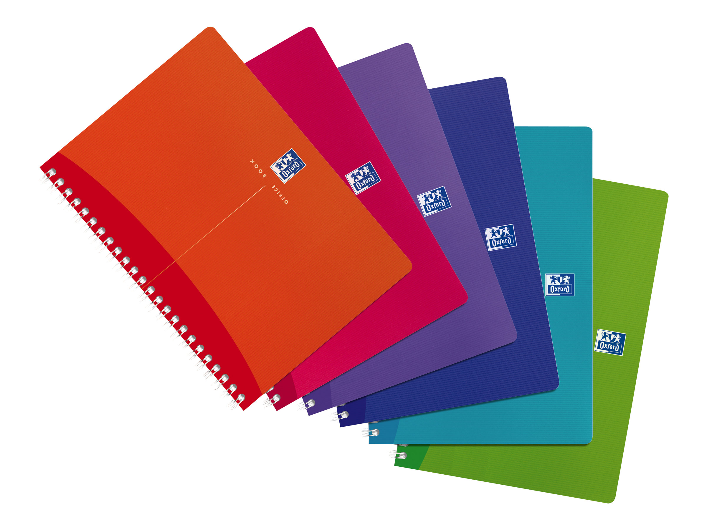 Oxford office my colours cahier polypro a5 180 pages lign disponible dans - Cahier oxford office book ...