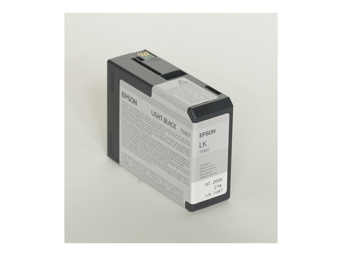 Epson T5807 - noir clair - original - cartouche d'encre