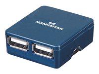 Manhattan Hi-Speed USB 2.0 Micro Hub