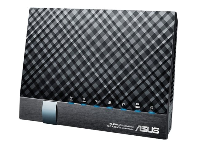 ASUS DSL-AC56U - trådløs ruter - DSL-modem - 802.11a/b/g/n/ac - stasjonær 90IG01E0-BM3000