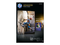 HP Advanced Glossy Photo Paper Skinnende 10,5 millioner 100 x 150 mm