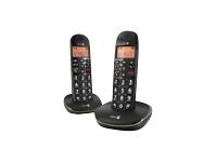 DORO PhoneEasy 100W Duo Trådløs telefon med opkalds-ID DECTGAP