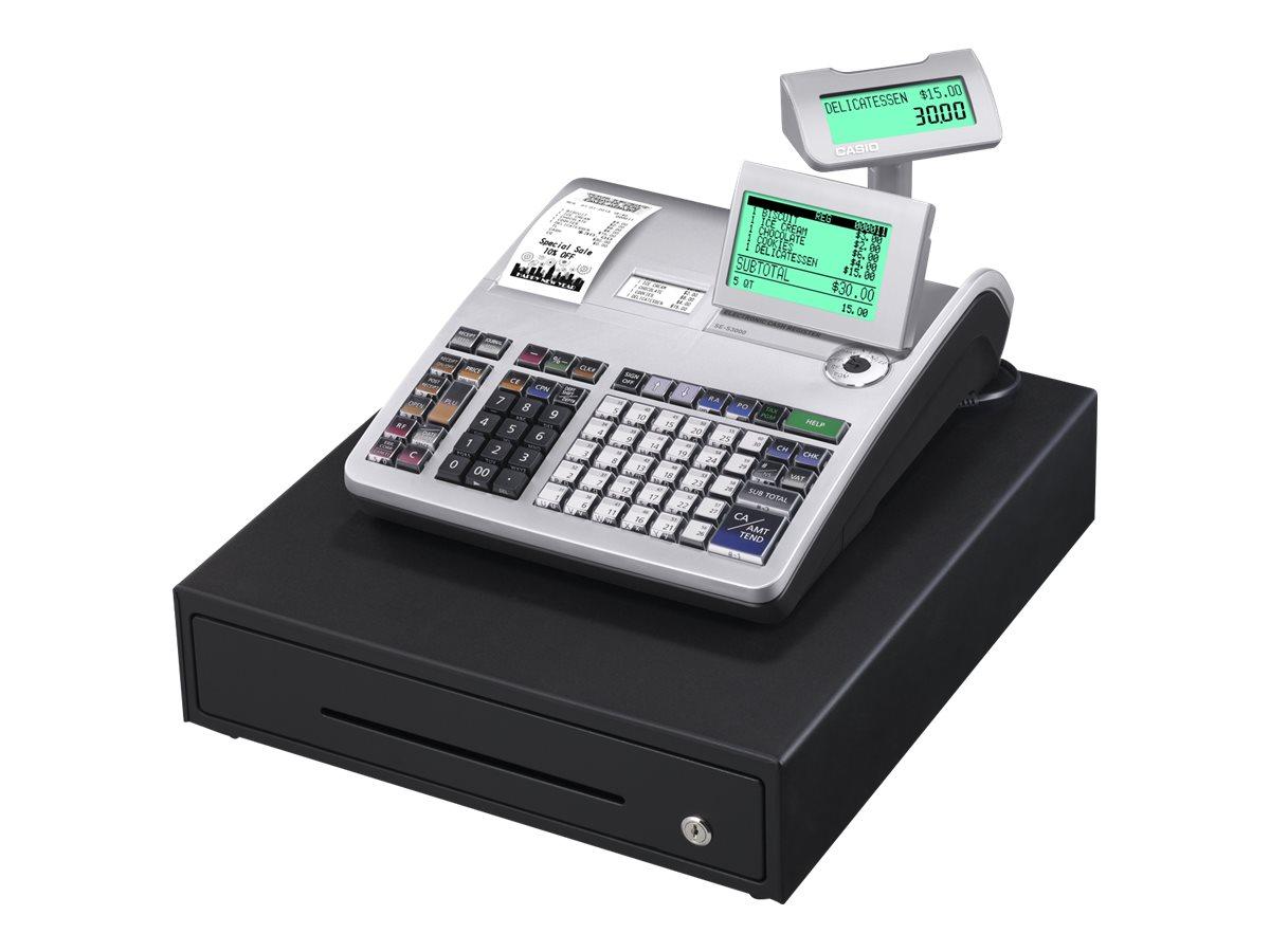 Casio SE-S3000 - caisse enregistreuse
