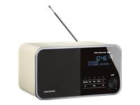 Grundig DTR 3000 DAB+ DAB-radio hvid
