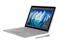 "Microsoft Surface Book with Performance Base - Tablet - with detachable keyboard - Core i7 6600U / 2.6 GHz - Win 10 Pro 64-bit - 8 GB RAM - 256 GB SSD - 13.5"" touchscreen 3000 x 2000 - GF GTX 965M - Wi-Fi - silver - kbd: English - North America - commercial"