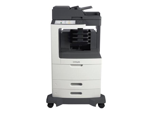 Image of Lexmark MX810dme - multifunction printer ( B/W )