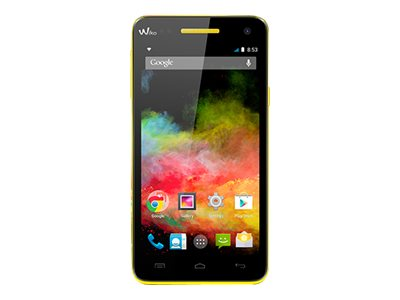 Wiko Rainbow 4G - noir - 4G HSPA+ - 8 Go - GSM - smartphone Android