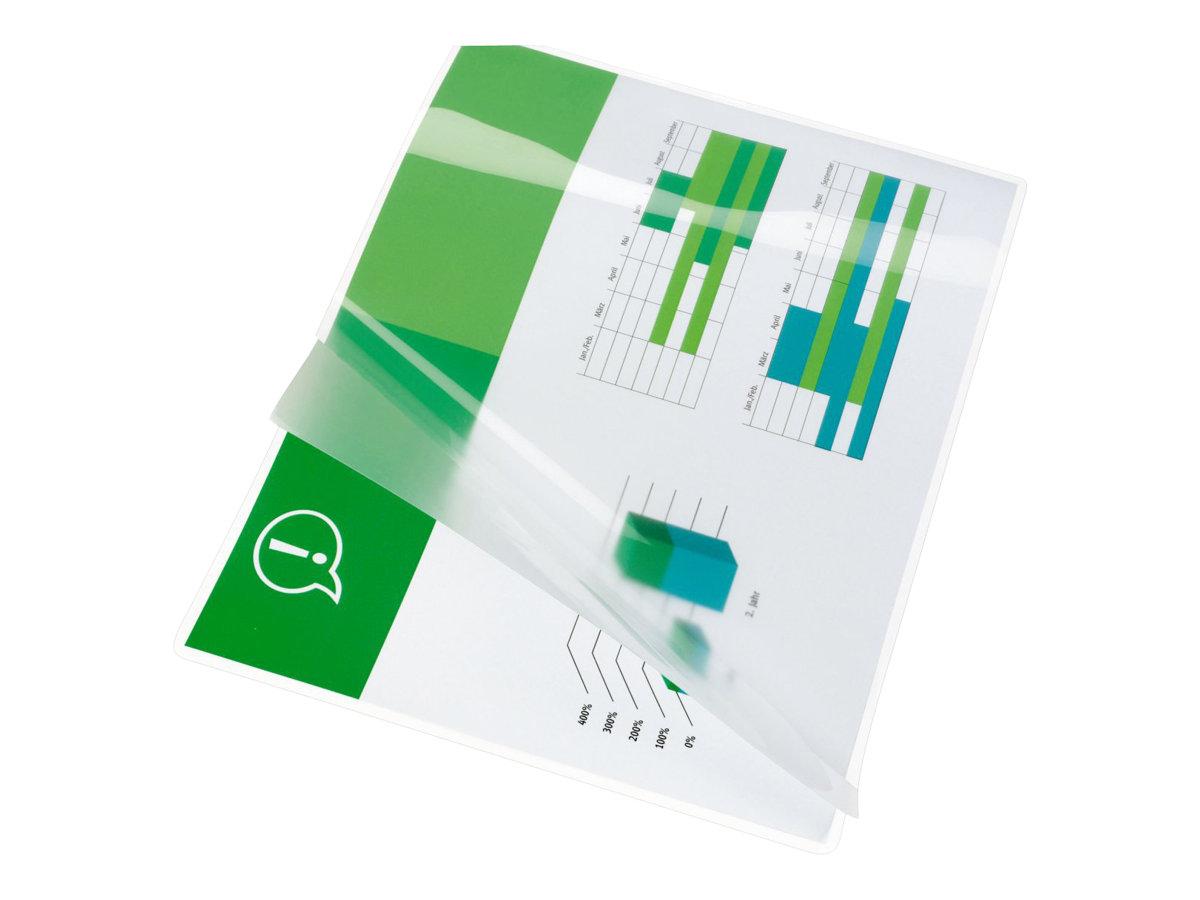 GBC Lam Pouch - pack de 25 - brillant - pochettes plastifiées