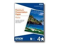 Epson - Matte - white - Letter A Size (8.5 in x 11 in) - 167 g/m² - 50 sheet(s) paper - for EcoTank ET-3600; Expression ET-3600; Expression Home XP-434; WorkForce ET-16500, WF-2750