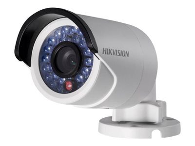 Hikvision DS-2CD2014WD-I - Network surveillance camera - outdoor - weatherproof - color (Day&Night) - 1 MP - 1280 x 720 - 1080p - M12 mount - fixed focal - LAN 10/100 - MJPEG, H.264 - DC 12 V / PoE