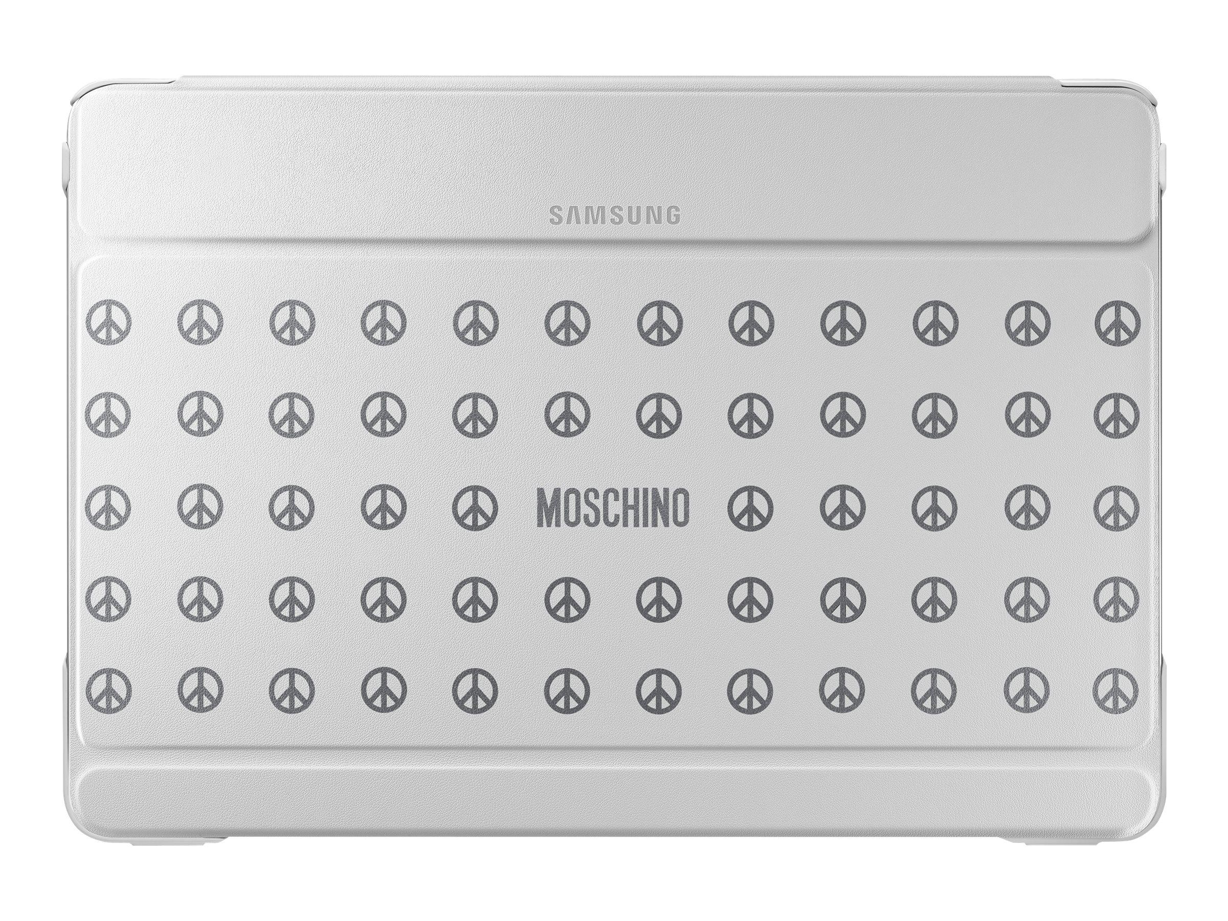 Samsung Book Cover EF-EP900B - Moschino Edition vippedeksel for nettbrett EF-EP900BZEGWW