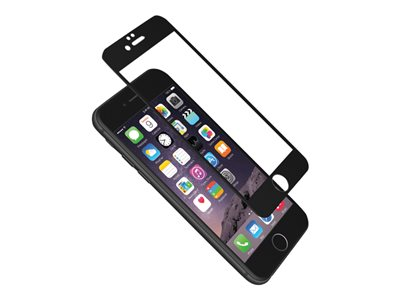Cygnett AeroCurve - Screen protector - black - for Apple iPhone 6, 6s