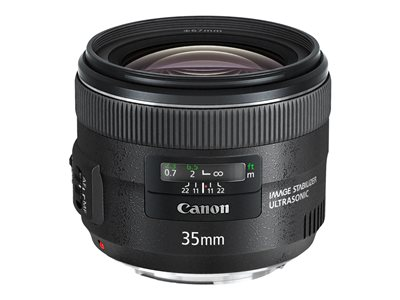Canon EF - Širokoúhlé čočky - 35 mm - f/2.0 IS USM - Canon EF