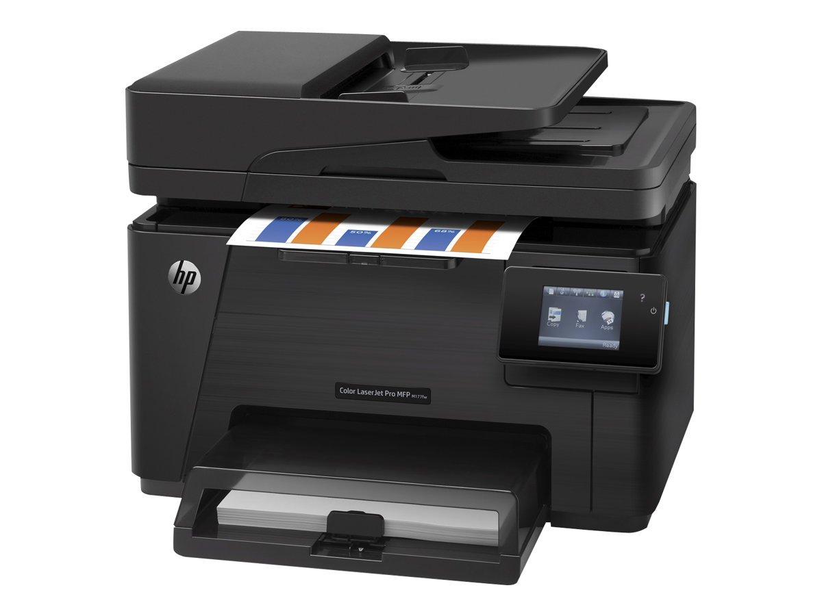 hp laserjet pro mfp m177fw imprimante multifonctions couleur mat riel d 39 impression. Black Bedroom Furniture Sets. Home Design Ideas
