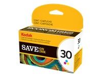 Kodak Color Ink Cartridge - Color (cyan, magenta, yellow) - original - ink cartridge - for ESP 3.2,