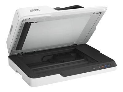 Epson WorkForce DS-1630 - Skener dokumentů - Duplex - A4 - 1200 dpi x 1200 dpi - až 25 stran za min. (ČB) / až 25 stran za min. (barevný) - ADF (50 listy) - až 1500 skenů denně - USB 3.0