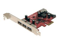 STARTECH.COM  4 Port SuperSpeed USB 3.0 PCI Express Card with SATA PowerPEXUSB3S4