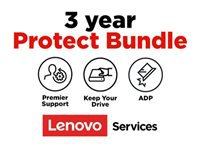 Lenovo Onsite + Accidental Damage Protection + Keep Your Drive + Premier Support - Extended service agreement - parts and labor - 3 years - on-site - response time: NBD - for (1-year pick-up & return): ThinkBook 13s G2 ITL; 14 G2 ARE; 14 G2 ITL; 15; 15 G2 ARE; 15 G2 ITL; ThinkPad C13 Yoga G1; E14 Gen 2; E15 Gen 2; L14 Gen 1; L15 Gen 1; P1 (3rd Gen); P14s Gen 1; P15 Gen 1; P15s Gen 1; P15v Gen 1; P17 Gen 1; T14s Gen 1; T15g Gen 1; T15p Gen 1; X1 Carbon Gen 8