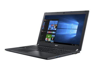 """Acer TravelMate P658-M-59SY - Core i5 6200U / 2.3 GHz - Win 7 Pro 64-bit (includes Win 10 Pro 64-bit License) - 8 GB RAM - 256 GB SSD - 15.6"""" 1366 x 768 (HD) - HD Graphics 520 - Wi-Fi, 802.11ad (WiGig) - black - kbd: US International"""