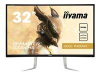 iiyama G-Master G3266HS-B1 32 Inch Black Curved, Full HD, 3ms, 144hz, FreeSync, HDMI, D-P