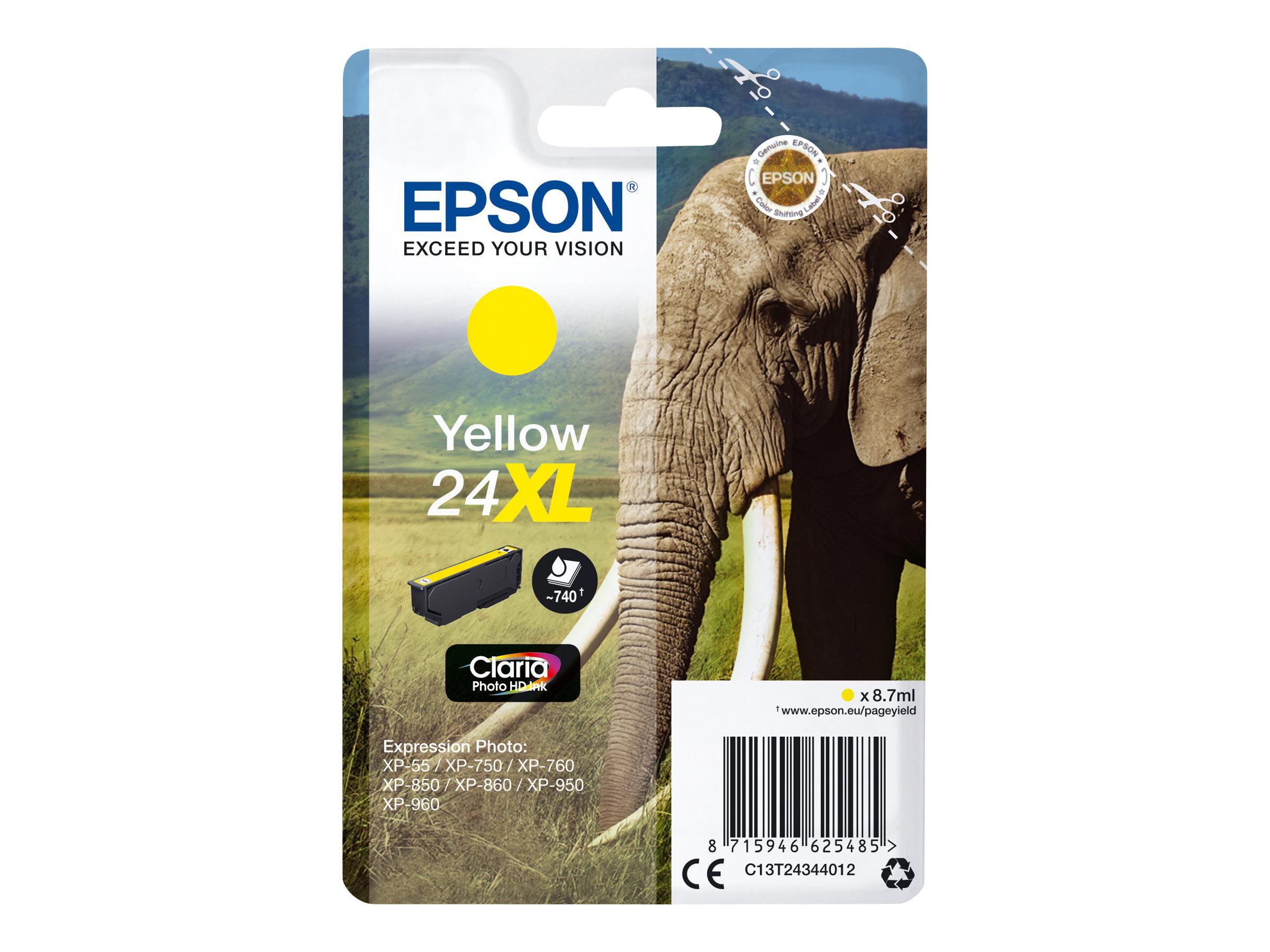 Epson 24XL Gul