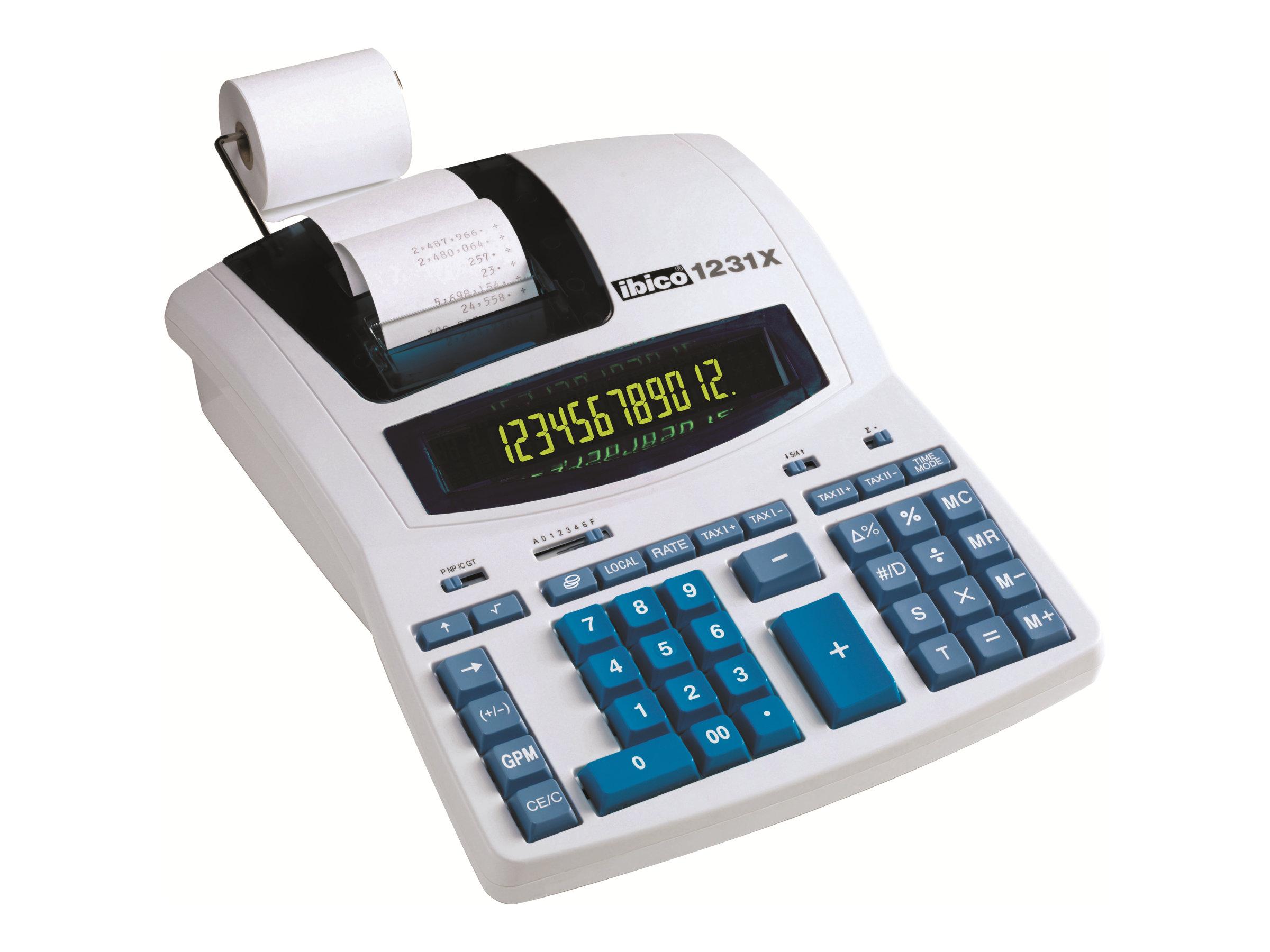 Rexel Ibico Professional 1231X - calculatrice avec imprimante
