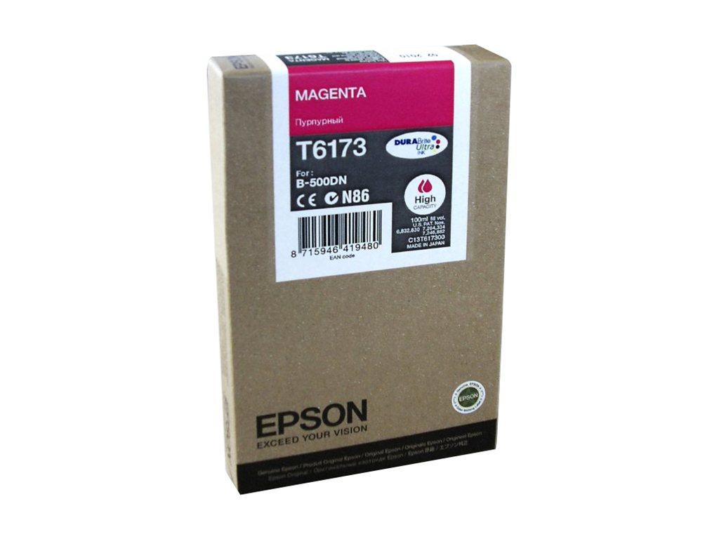 Epson T6173 - haute capacité - magenta - original - cartouche d'encre