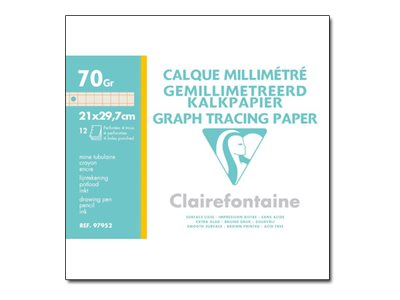 Clairefontaine - graph tracing paper