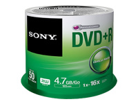 Sony CD-R/W et DVD-R 50DPR47SP
