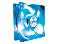 ANTEC Ventilador Antec TriCool Blue led0-761345-75020-2