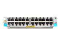 HPE - Expansion module - Gigabit Ethernet (PoE+) x 24 - for HPE Aruba 5406R, 5406R 16, 5406R 44, 5406R 8-port, 5406R zl2, 5412R, 5412R 92, 5412R zl2