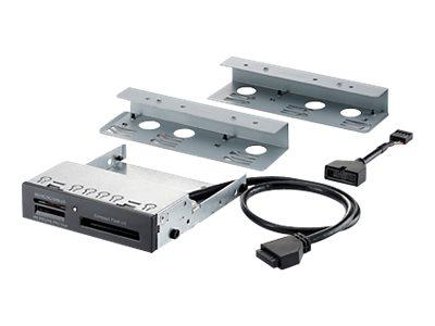 HP 15-in-1 USB2/3 Media Card Reader - Čtečka karet - 15 in 1 - 3,5