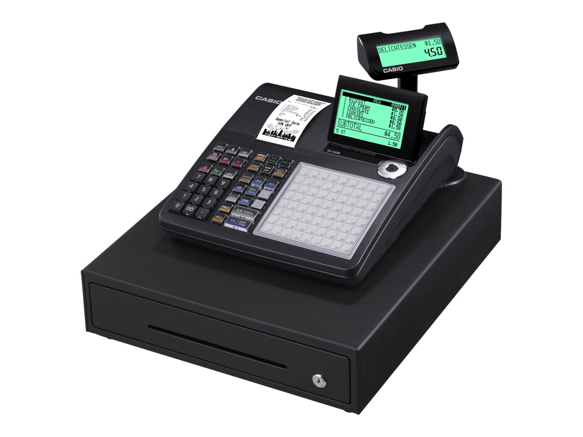 Casio SE-C450 - caisse enregistreuse