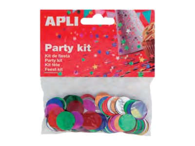 Apli Party - confettis - 14 gr - 1.5 cm - ronds