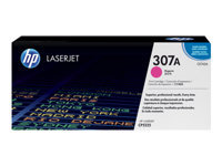 HP 307A - Magenta - original - LaserJet - toner cartridge (CE743A) - for Color LaserJet Professional CP5225, CP5225dn, CP5225n