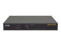 D-Link DES 1008PA Switch ikke administreret