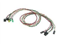 StarTech.com Replacement Power Reset LED Wire Kit for ATX Case Front Bezel