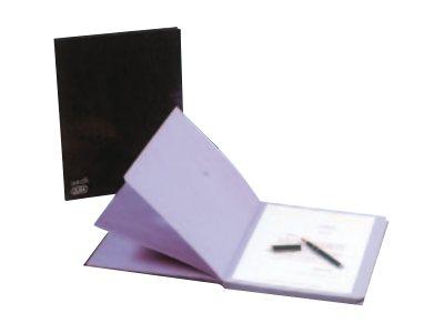 elba parapheur extensible 24 pochettes noir parapheurs. Black Bedroom Furniture Sets. Home Design Ideas